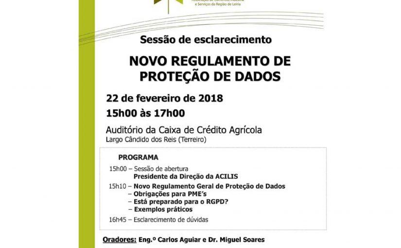 ACILIS promoveu sessões de esclarecimento sobre RGPD