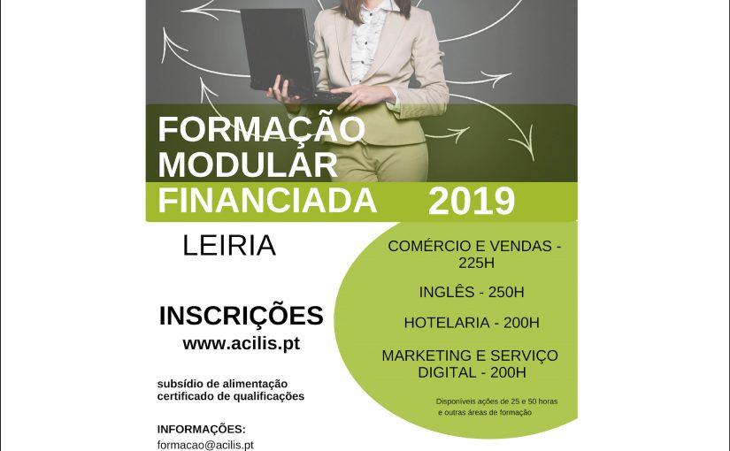 Formação modular financiada – 2019