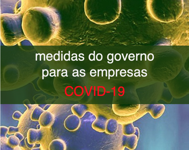 Medidas do Governo para as empresas